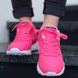 Women's Reebok Hexalite Neon Pink Sneakers
